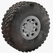 Truck Dirt Tire 3d model