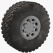 Truck Dust Tire 3d model