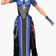 Katya (Overwatch) 3d model