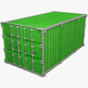 Cargo Container V1 3d model