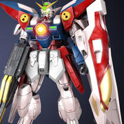 Wing Gundam Zero 3d model