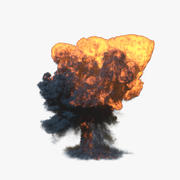 Explosion 4 3d model