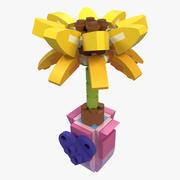 LEGO Friendship Flower 3d model