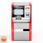 Bankomat bankowy 3d model