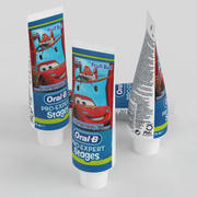 Pasta de dientes Oral-B Pro Expert Etapas Explosión de frutas modelo 3d