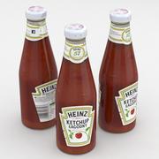 Ketchup Heinz Suave 342g modelo 3d