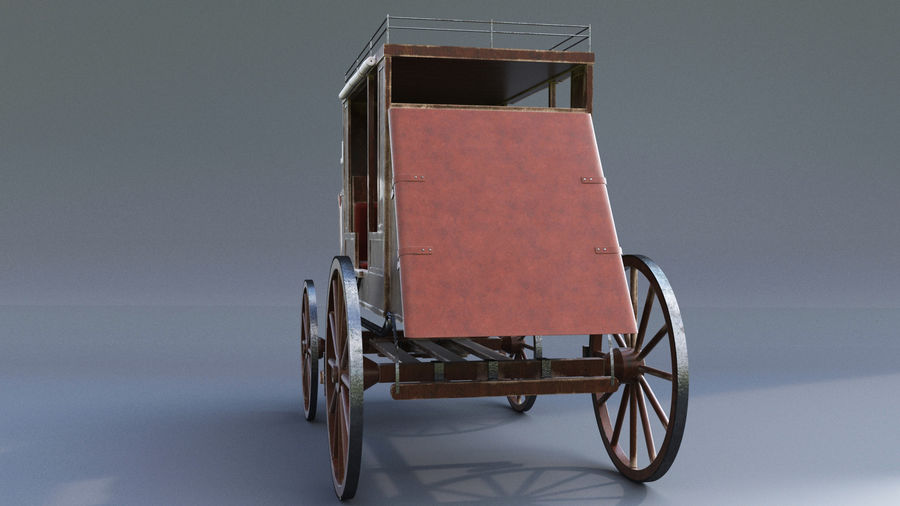 Le chariot royalty-free 3d model - Preview no. 5