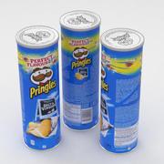 Pringles Sel et Vinaigre 165g 2018 3d model
