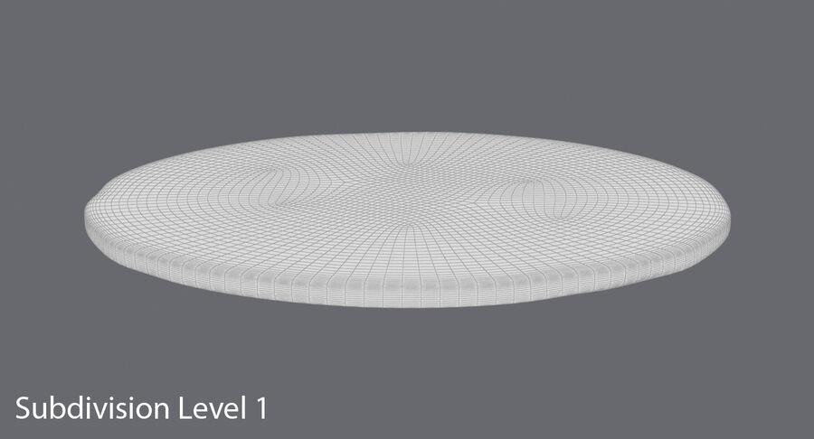 Goldmünze Dirty 2 Flat royalty-free 3d model - Preview no. 17