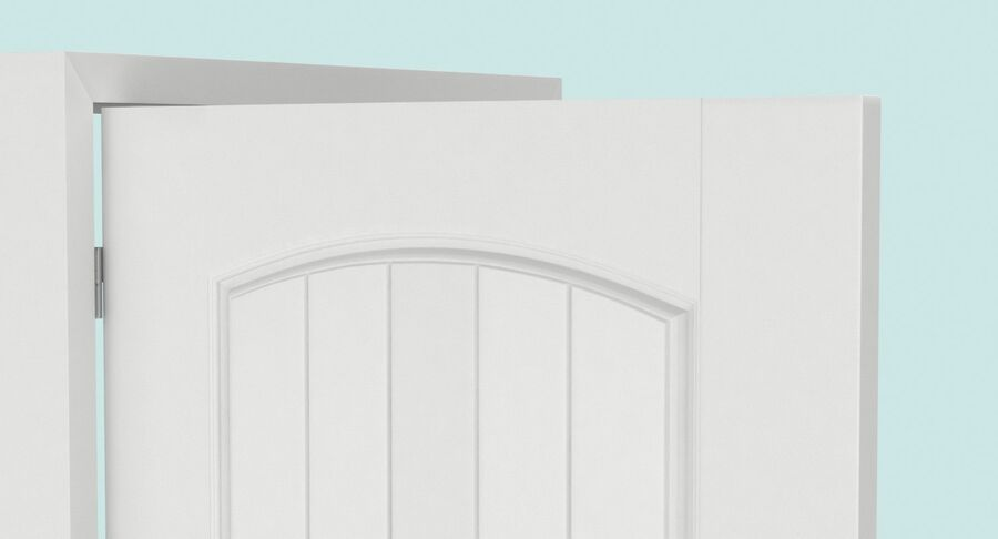Exterior Door 3 Open royalty-free 3d model - Preview no. 9
