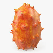 Kiwano Fruit 3D-modell 3d model
