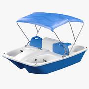 Wypożyczalnia łodzi na pedały 3d model