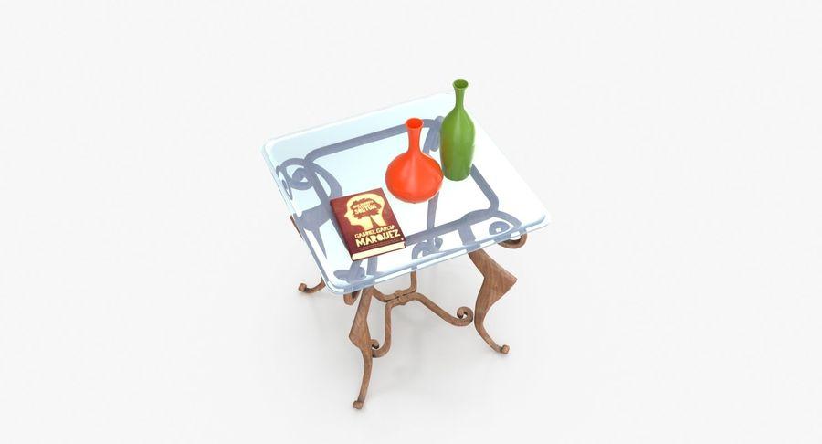 现代咖啡桌 royalty-free 3d model - Preview no. 7