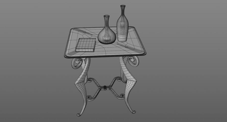 现代咖啡桌 royalty-free 3d model - Preview no. 13