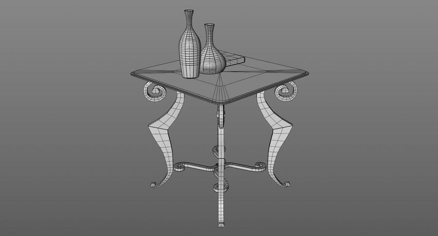 现代咖啡桌 royalty-free 3d model - Preview no. 10