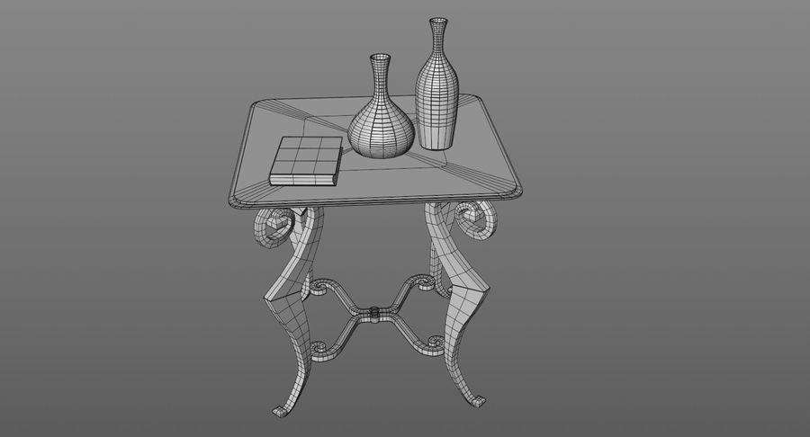 现代咖啡桌 royalty-free 3d model - Preview no. 12