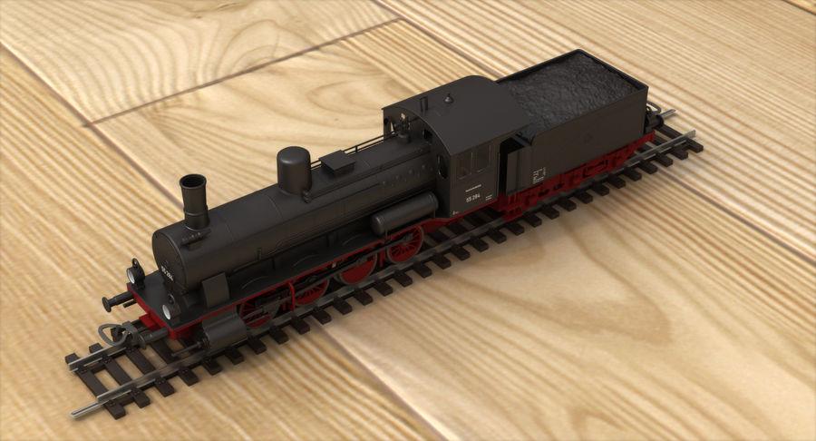 おもちゃの蒸気機関車 royalty-free 3d model - Preview no. 6