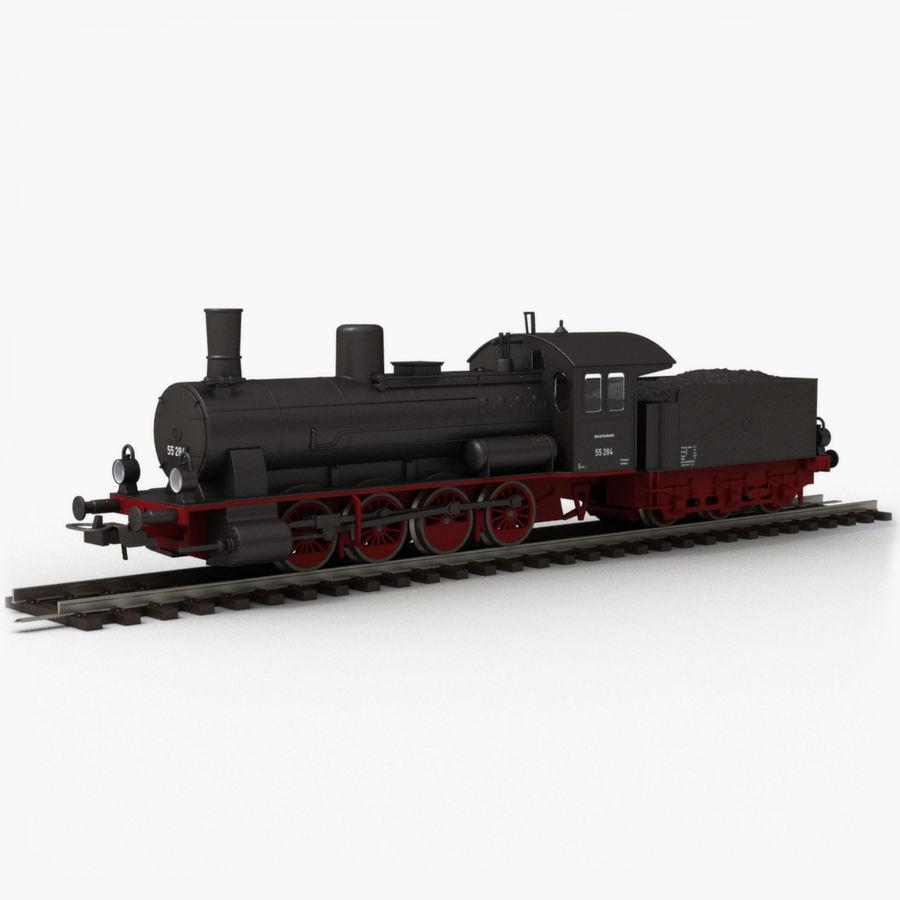 おもちゃの蒸気機関車 royalty-free 3d model - Preview no. 1