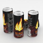Boisson peut bruler boisson énergétique 250ml 3d model