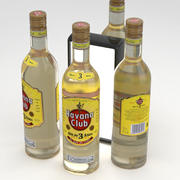 Havana Club Anejo 3 Anos Rum de Cuba 700ml 3d model