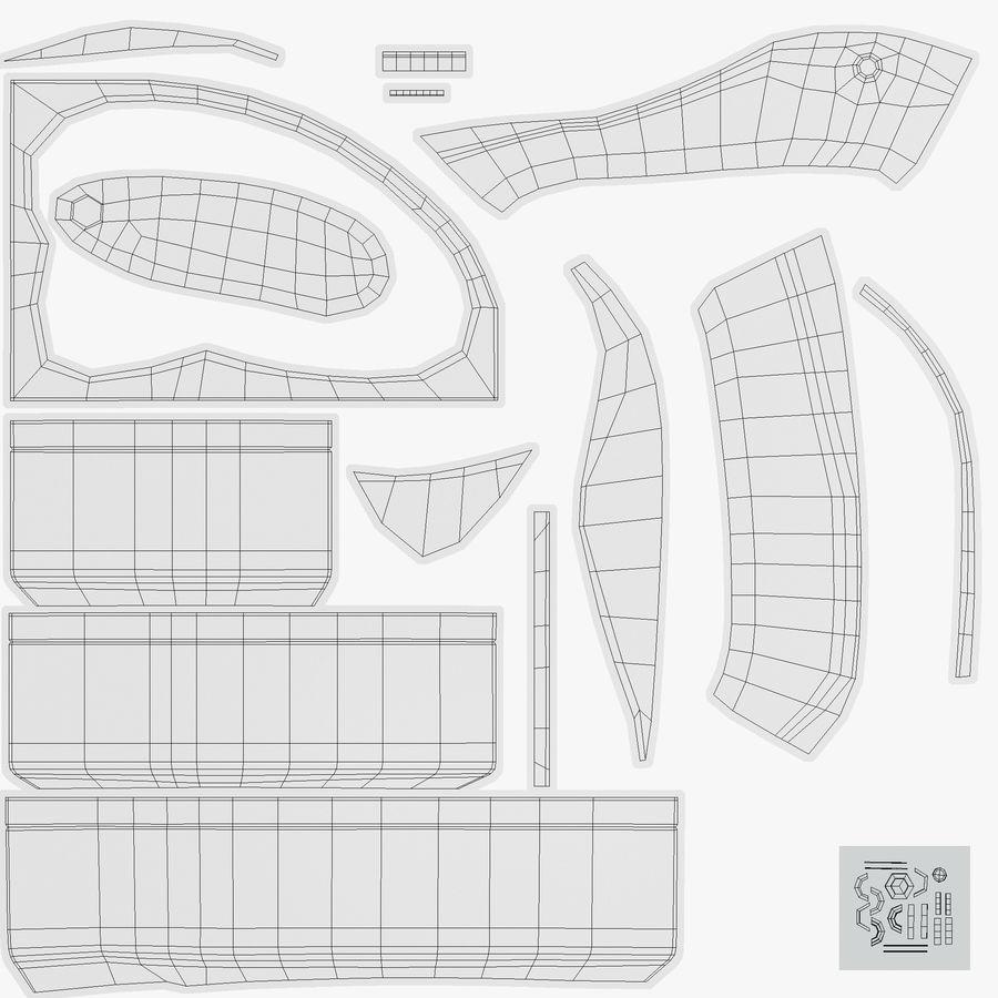 Bath royalty-free 3d model - Preview no. 16