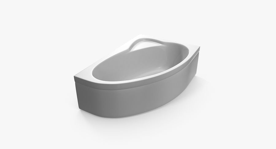 Bath royalty-free 3d model - Preview no. 4