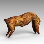 Fried Rabbit 3d model