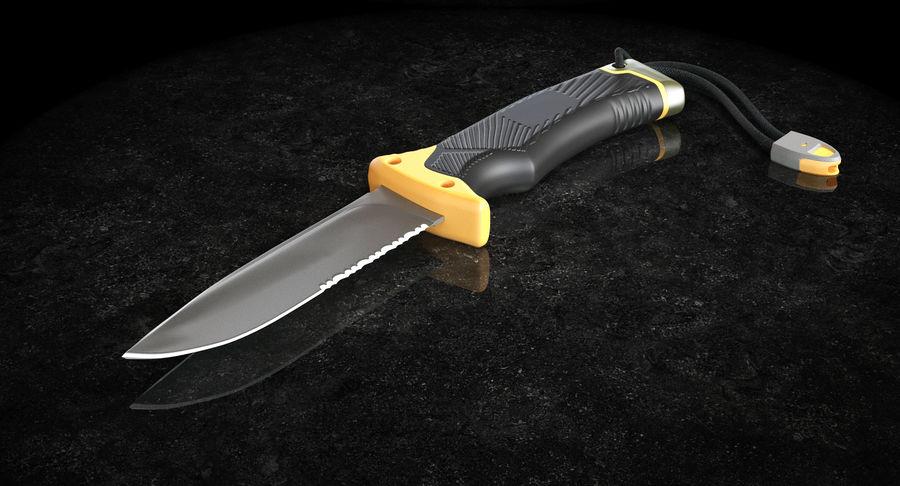 Tourist Knife Modèle 3D royalty-free 3d model - Preview no. 3