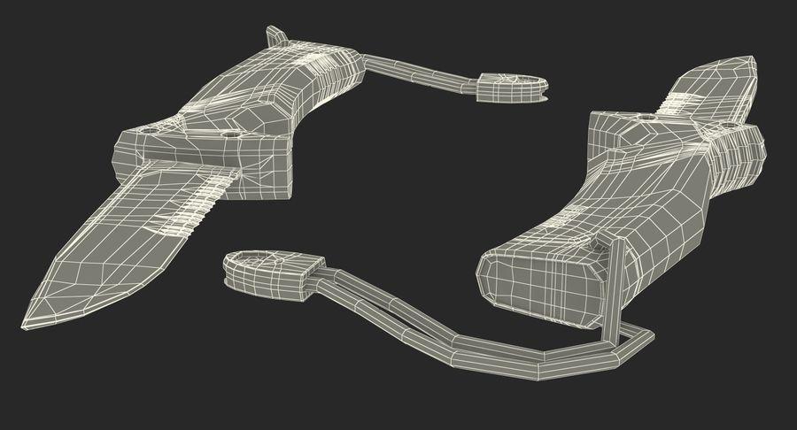 Tourist Knife Modèle 3D royalty-free 3d model - Preview no. 16