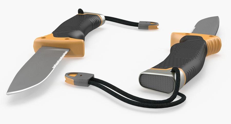Tourist Knife Modèle 3D royalty-free 3d model - Preview no. 4