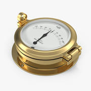 Brass Ship Clinometer 3D模型 3d model