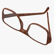 眼镜 3d model