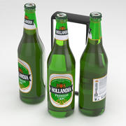 啤酒瓶Hollandia 650ml 3d model