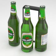 Botella de cerveza Hollandia 650ml modelo 3d