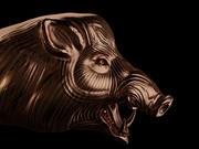 cerdo modelo 3d