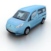 Nissan e-NV200 2015 3d model