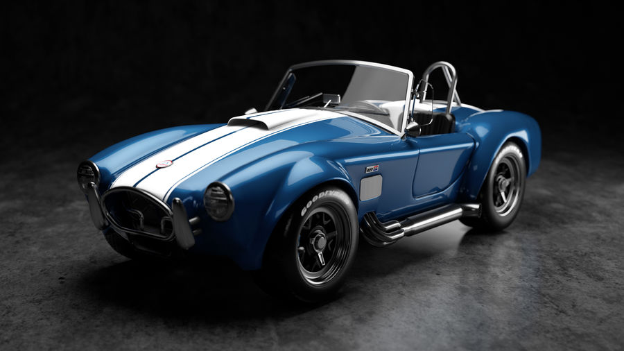Cobra fordon royalty-free 3d model - Preview no. 1