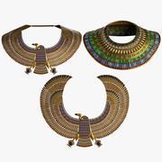 Collares egipcios modelo 3d