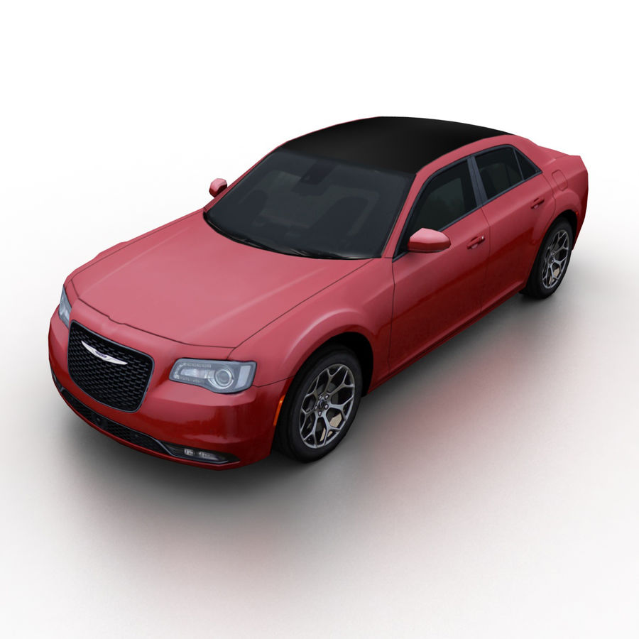 克莱斯勒300 2015 royalty-free 3d model - Preview no. 1
