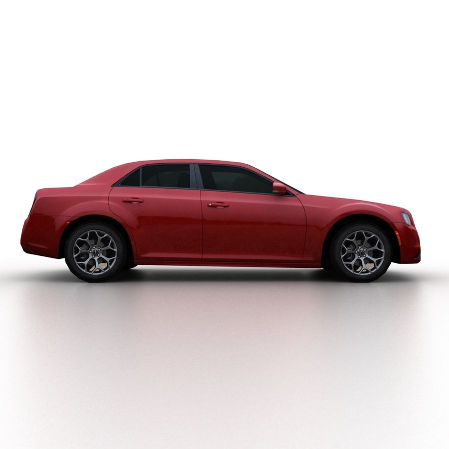 克莱斯勒300 2015 royalty-free 3d model - Preview no. 3