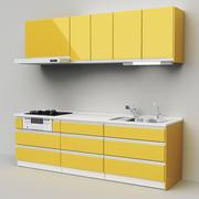Japanse modulaire keuken 3d model