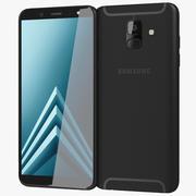 Samsung Galaxy A6 2018 Schwarz 3d model