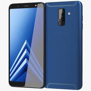 Samsung Galaxy A6 Plus 2018 Blau 3d model