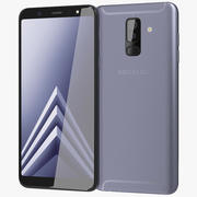Samsung Galaxy A6 Plus 2018 Levander 3d model