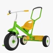 Styra och promenera Trike 03 3d model