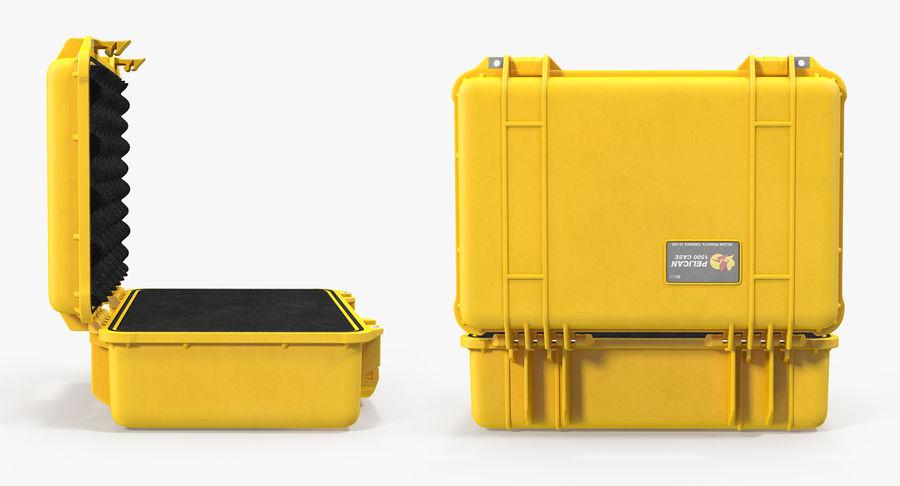 Yellow Peli 1500 with Foam