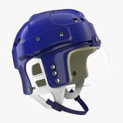 Vintage Hockey Helmet  3D Model 3d model