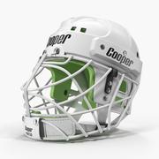 Hockey Helmet Face Mask 3D Model 3d model