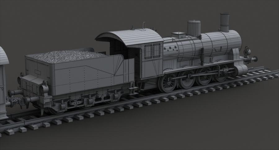 玩具火车 royalty-free 3d model - Preview no. 10