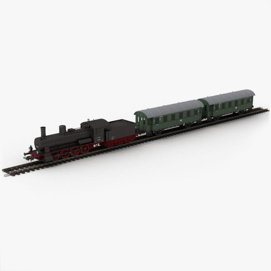 Игрушечный поезд royalty-free 3d model - Preview no. 1
